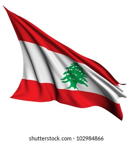 Lebanon flag - collection no_4