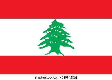 Lebanon national flag