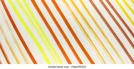 Lemon Coral Rainbow Hand Drawn Stroke. Coral Fuchsia Bright Juicy Doodle Marker Stripes. Seafoam Shibori Grunge Lines. Forest Bright Juicy Doodle Marker Stripes.