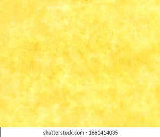 Lemon yellow background color with old vintage grunge texture, bright spring background template