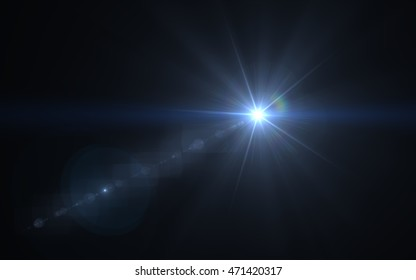 Lens Flare dusty huge star