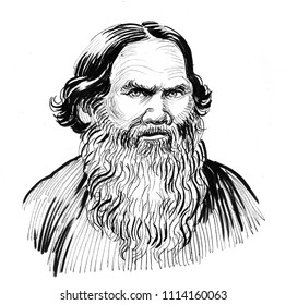 Leo Tolstoy. Russian writer