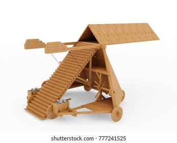Leonardo da Vinci, Siege Machine, Codex Atlanticus 1084r. 3D model