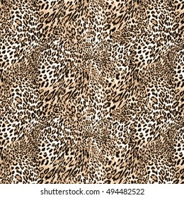 leopard background or texture