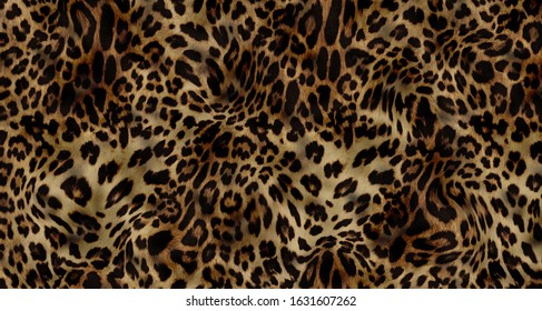 leopard colorful aanimal fabric textile pattern