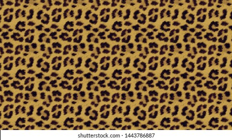 Leopard pattern design. cheetah animal print seamless pattern tile background