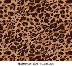 Leopard pattern design, illustration background