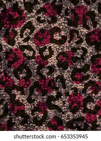 leopard sequins pattern,fashion fabric,background texture