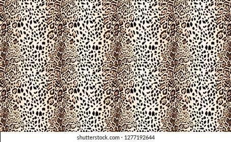 Leopard texture, metric leopard pattern