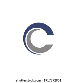 Letter CC words Design For Your business