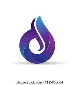 Letter DS logo icon design template elements