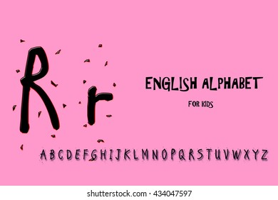 letter r suitable for your project