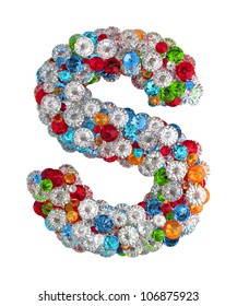 Letter S From Scattered Gems Jewelry