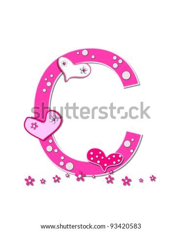 Letter U Alphabet Set Heart Full Stock Illustration 93420583 ...