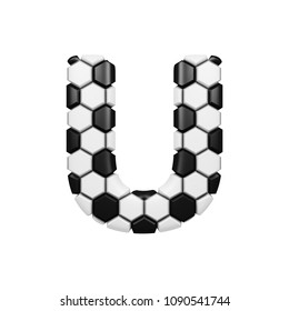 Royalty Free Stock Illustration Of Letter R Textured 3 D Soccer