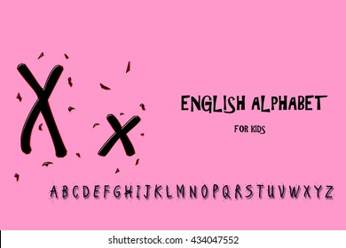letter x suitable for your project