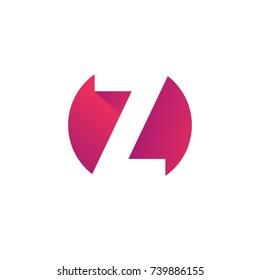 Letter Z logo icon design template elements