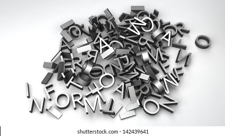 """letters that make up the word """"information"""""""
