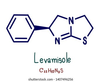 Levamisole is a medication used to treat parasitic worm infections. Specifically it is used for ascariasis and hookworm infections.