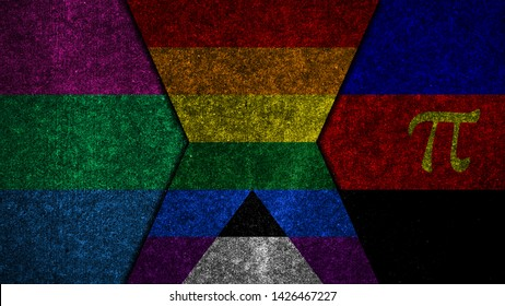 Polyamory Flag Images, Stock Photos & Vectors | Shutterstock
