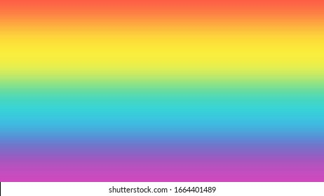 LGBTQ transgender rainbow colors gradient background. Gay concept background