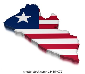 Liberia (clipping path included)