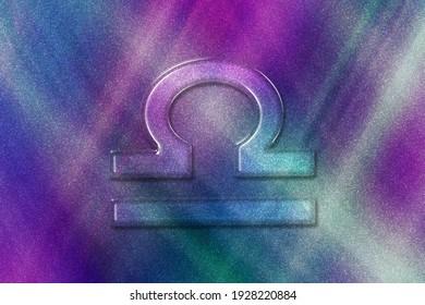 Libra zodiac sign, Horoscope Astrology background, Libra horoscope symbol, colored pattern background