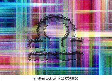 Libra zodiac sign, rugged horoscope, Horoscope Astrology background, Libra horoscope symbol, colorful checkered