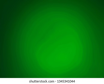 Light background gradient. Green blurred abstract background