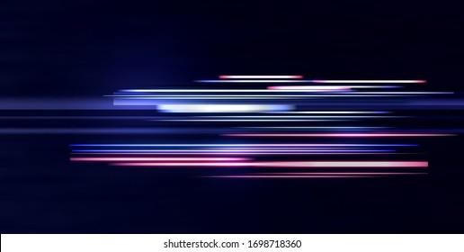LIGHT BACKGROUND. NEON FUTURISTIC ILLUSTRATION
