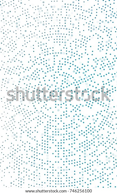 Light BLUE abstract pattern with circles. Geometry template for your business design. Background with colored spheres.