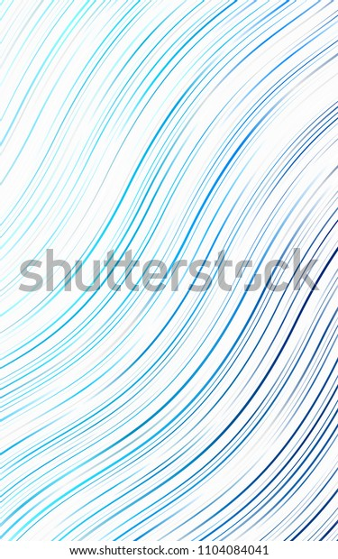 Light BLUE background with bubble shapes. Shining illustration, which consist of blurred lines, circles. Marble style for your business design.