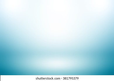 Light blue gradient abstract background / blue background