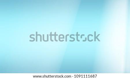 Light Blue Gradient Color Background Wallpaper Stock Illustration