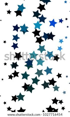 light blue vertical cover small big stock illustration 1027716454