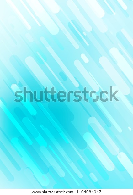 Light BLUE vertical doodle blurred texture. Colorful abstract illustration with lines in Asian style. The pattern can be used for coloring books and pages for kids.