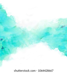 light blue watercolor background abstract water color texture illustration design blue watercolour paint paper art wallpaper stain hand painting sky colorful splash pastel graphic bright