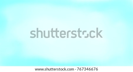 Light Blue Watercolor Wallpaper Smooth Surface Background