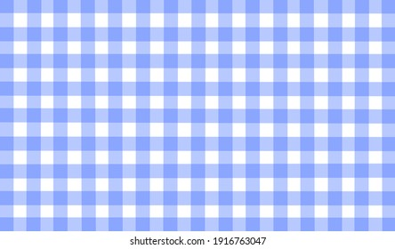 Light blue white lavender vintage checkered background. Space for graphic design. Checkered texture. Classic checkered geometric pattern. Traditional ornament made of colored square elements.