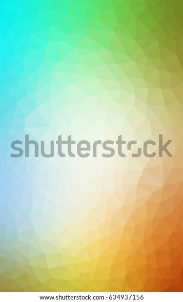 Light Blue, Yellow modern geometrical abstract background. Texture, new background. Geometric background in Origami style with gradient.