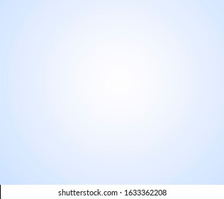 Light and bluish white gradient. bluish background with white middle
