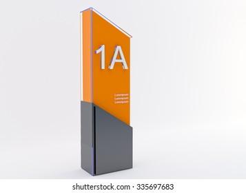 light box sinage design