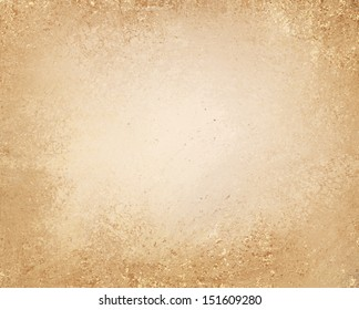 light brown background layout, tan or beige center with darker brown border and vintage grunge background texture, country western or old distressed and worn brown paper bag style image for brochures