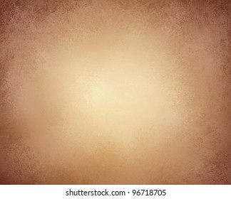 light brown background paper or old stationary with vintage grunge texture and soft faded worn black edges