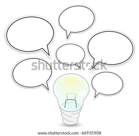 Fluorescent Light Bulb Diagram