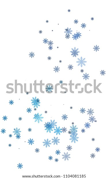 Light colored vertical cover with beautiful snowflakes. Modern geometrical abstract illustration with crystals of ice. New year design for your business advert.