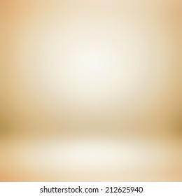 Light  golden brown gradient abstract background