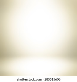 Light golden brown gradient abstract background - can be used for display or montage your products