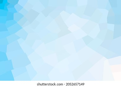 Light gradation background with small squares