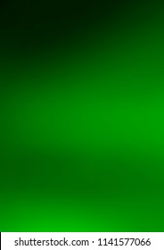 Light Green abstract blurred background. A vague abstract illustration with gradient. Brand-new design for your business.